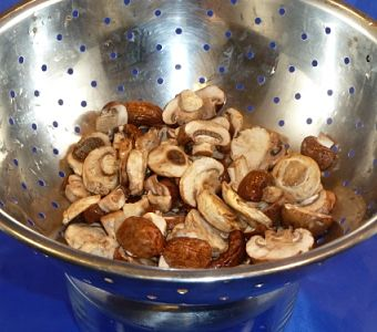 Pickled Crimini Mushrooms