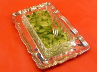 Pickled Pressed Cucumber