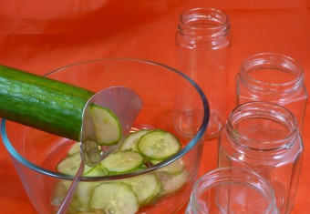 Salted Pickled Cucumber
