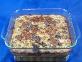 Swedish Pasta Bake called Makaronipudding